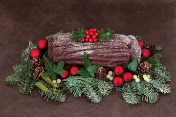Yuletide Log