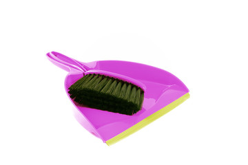 Purple Dustpan