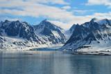 er gletscher im Magdalenenfjord