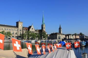Schweiz Nationalfeiertag 1. August