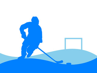 Illustration - Ice Hockey