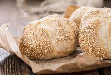 Fresh baked Sesame Buns