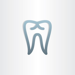 tooth icon dental design