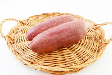 新鮮なサツマイモ