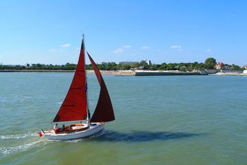Promenade en voilier à La Rochelle