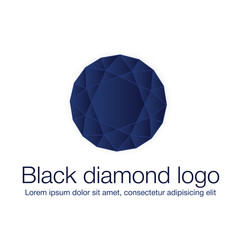 Diamond logo, luxury logotype 1