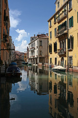 A beautiful glimpse of a canal in Venice