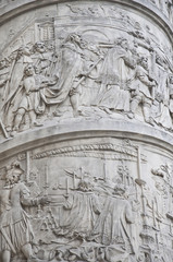 Detail from Vendome column in Paris