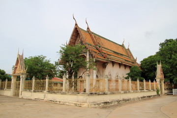 Old Temple at wat tummai, Bamg pa in, Ayutthaya