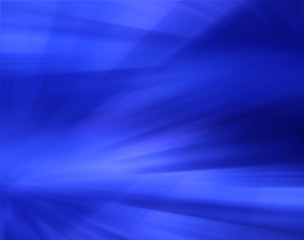 Abstract blue background with blurred lines