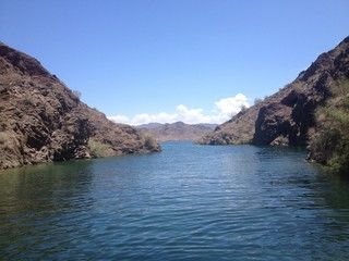 Cove in Lake Havasu