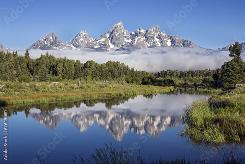 Schwabacher's Landing in Grand Teton National Park, Wyoming © kennytong