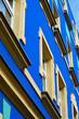 bunte Fassade in Magdeburg