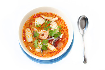 sea food tom yum