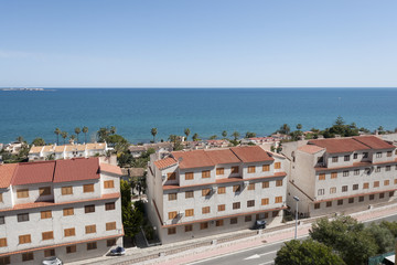 Views of Santa Pola, Alicante, Spain
