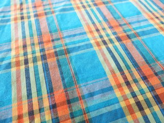 colorful stripped fabric background