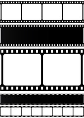 Film stripe - VECTOR illustration.