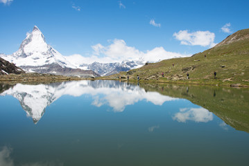 Reflection of Matterhorn