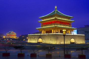 Bell tower in Xi'an