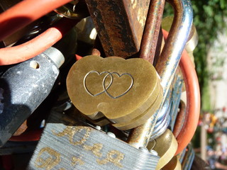 The lock for lovers