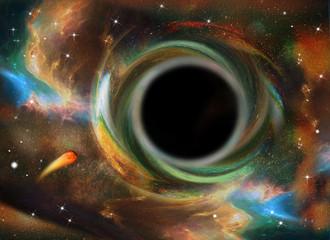 Schwarzes Loch, Universum