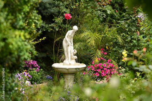 canvas print picture Garten 223