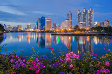 Bangkok thailand public parks