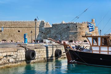 Stadtmauer Koule in Heraklion auf der Insel Kreta.