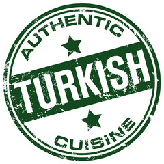 turkish cuisine stamp