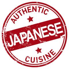 japanese cuisine stamp
