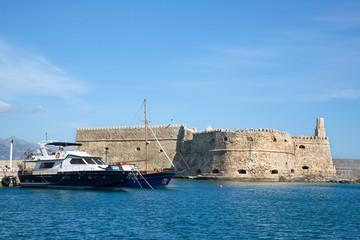 Venezianische Festung Koule in Heraklion auf Korfu.
