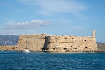 Alte Stadtmauer von Heraklion auf der griechischen Insel Kreta.