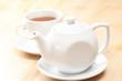 teapot with tea