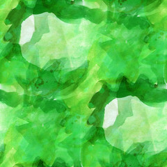 pattern design seamless watercolor texture background green wall