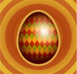 Easter egg illustration.