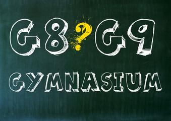 G8 oder G9 Gymnasium