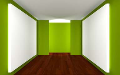 Empty Room Gallery