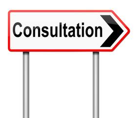Consultation concept.