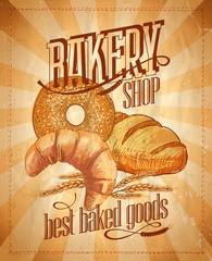 Bakery shop design.
