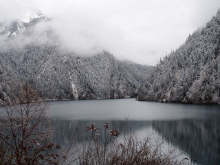 Alpine Lake in Jiuzhaigou
