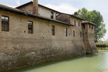 Visconteo Castle northern side, Pagazzano