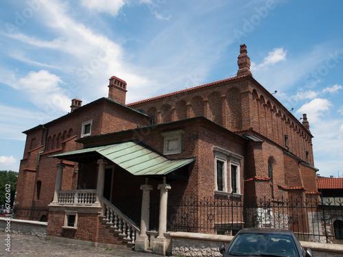 Fototapeta Old Synagogue in Krakow in Poland