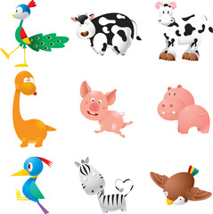 Domestic animals set