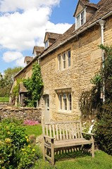Cotswold cottages, Lower Slaughter © Arena Photo UK