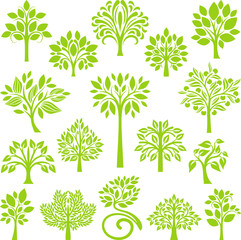 Green Tree set II