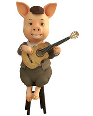 pig jazz guitar bar