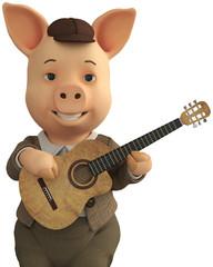 pig jazz guitar