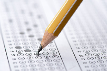 Correct way to fill multiple choice examination form