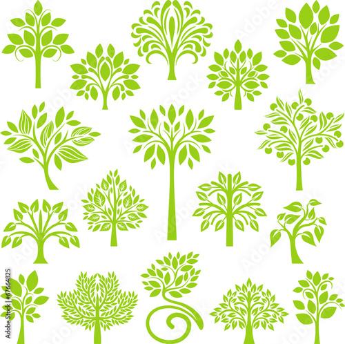 Green Tree set II