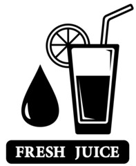 fresh juice icon